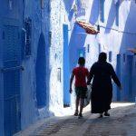 spacer, afryka, maroko