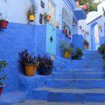 blekitne miasto maroko